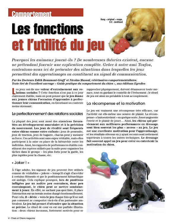 Chats Chiens Magazine N 1 Mai Jun 2013 Page 38 39 Chats