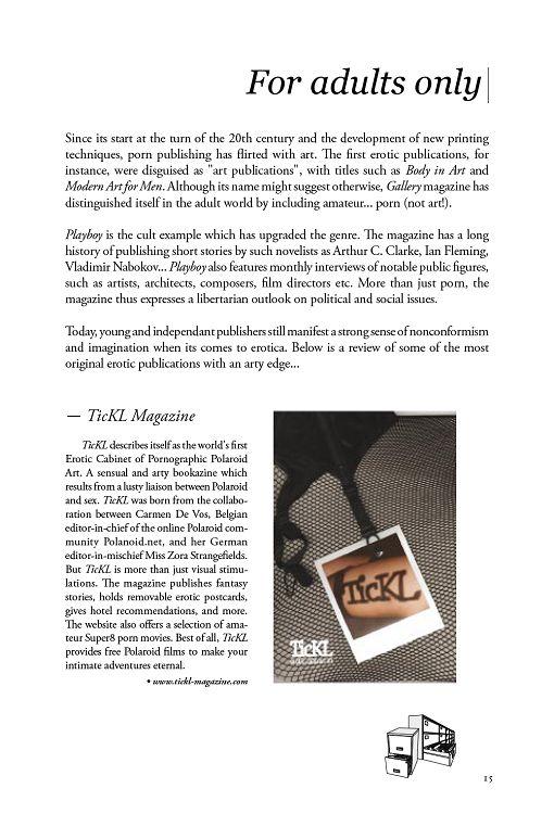 Code 2 0 n°9 mar/avr/mai 2009 - Page 14 - 15 - Code 2 0 n°9 mar/avr