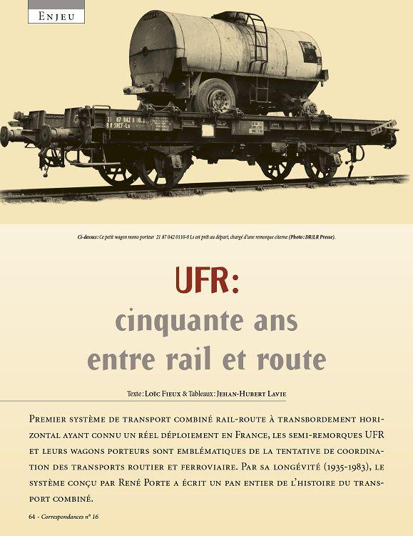 remorque rail route