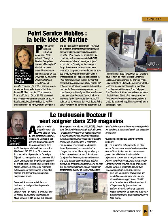Cr ation d 39 entreprise n 57 jui ao sep 2016 page 1 for Idee creation entreprise 2016