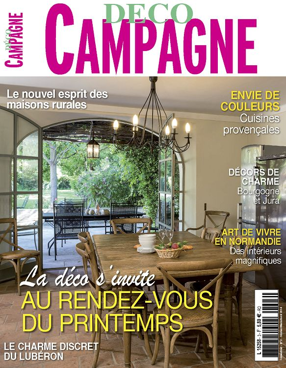 Magazine d co maison de campagne for Magazine deco maison