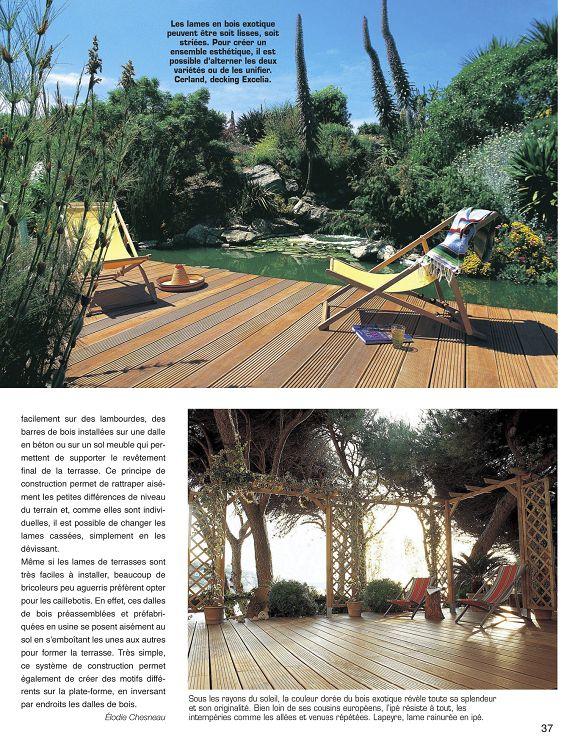 Déco Jardin N 1 Jun Jui 2010 Page 36 37 Déco