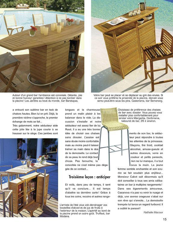 Déco & Jardin n°2 aoû/sep 2010 - Page 14 - 15 - Déco ...