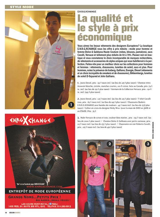 Décor Homme n°32 sep oct nov 2012 - Page 16 - 17 - Décor Homme n°32 ... 598924588da
