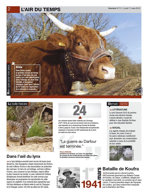 Direct Soir N711 1er Mar 2010 Page 2 3 Direct Soir N711 1er