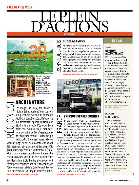 Du Côté De Chez Vous N 52 Jui Aoû 2012 Page 20 21 Du Côté De
