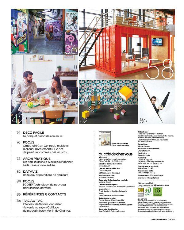 Du Côté De Chez Vous N64 Déc 14jan Fév 2015 Page 84 85