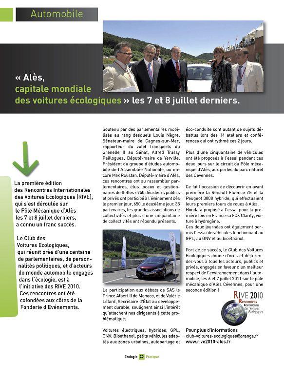 rencontres internationales voitures ecologiques 2011
