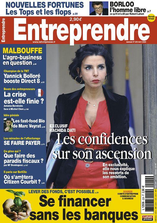Entreprendre N229 Avril 2009 Page 24 25 Entreprendre N229