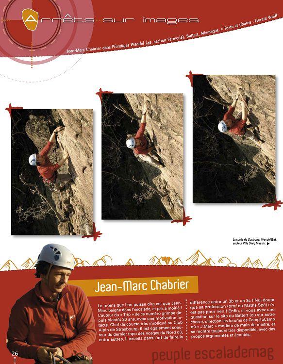 Escalade Mag n°17 avril 2008 - Page 50 - 51 - Escalade Mag n