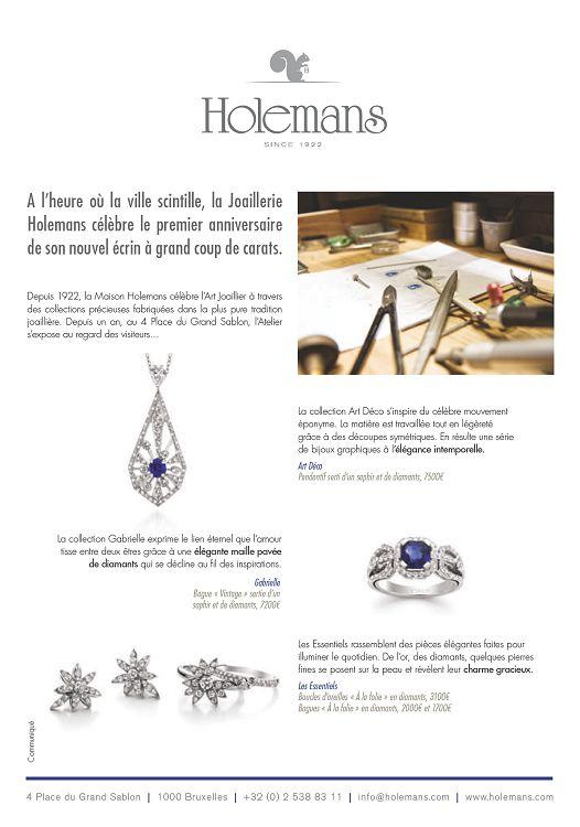 bijoux —22— LICIA MATTIOLI L or est à la base de ses créations. Licia  Mattioli aime voir ses bijoux vivre et bouger, ravir et surprendre. 181fa888a913
