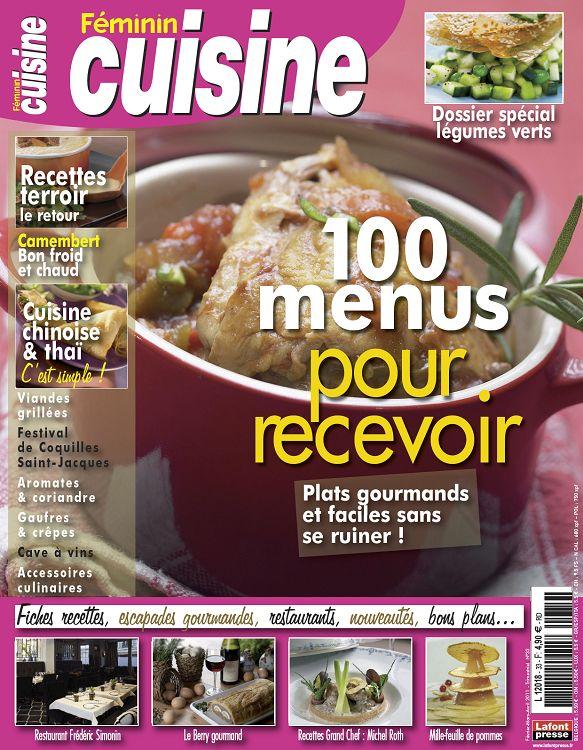 Feminin Cuisine N 33 Fev Mar Avr 2011 Page 88 89