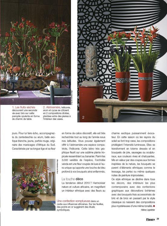 Fleurs magazine jardinage ext rieur maison for Magazine jardinage