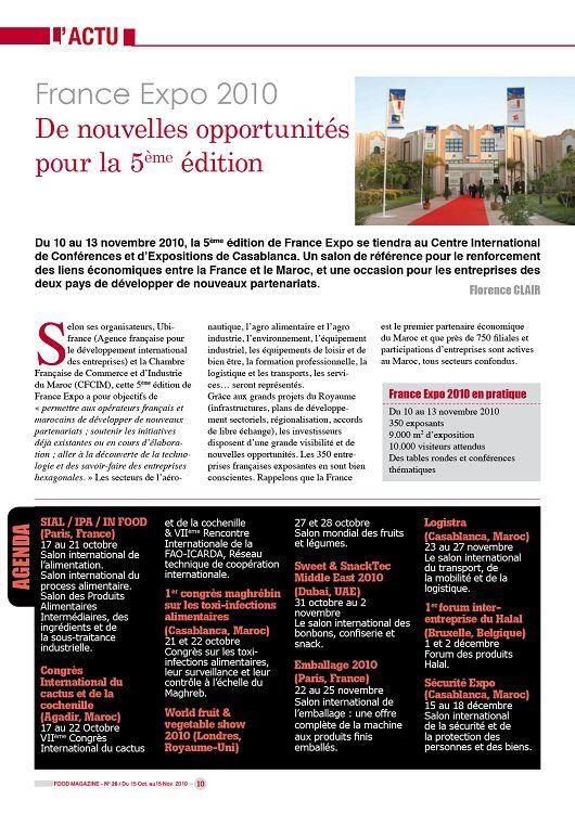Food Magazine n°26 novembre 2010 - Page 58 - 59 - Food ...