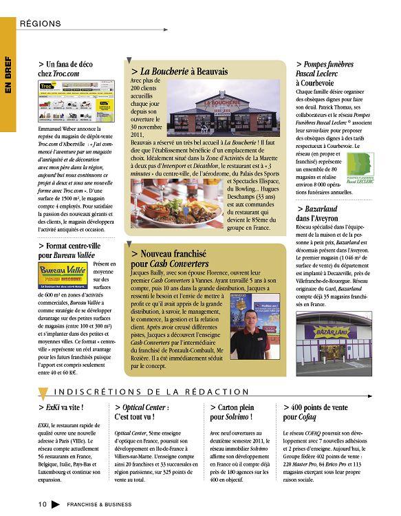 Franchise Business N39 Janfév 2012 Page 10 11