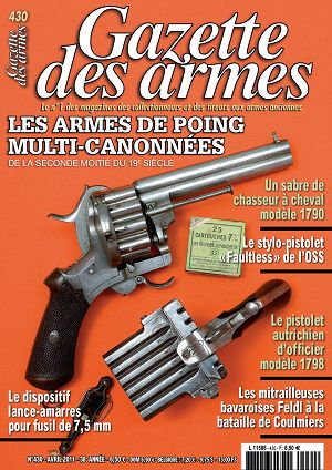 Gazette des Armes n°430 avril 2011