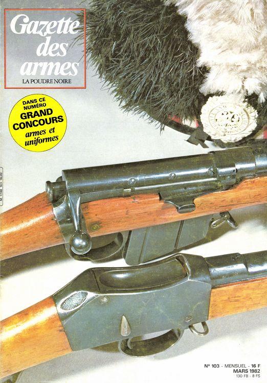 Gazette Des Armes N103 Mars 1982 Page 18 19 Gazette Des Armes