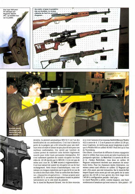 Mars Des Armes Page 56 57 N°163 Gazette 1987 j35LqA4R