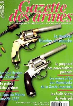 Gazette des Armes n°287 avril 1998