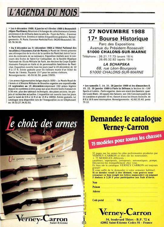 Gallery of gazette des armes n novembre u uac with code for Code postal chalon en champagne