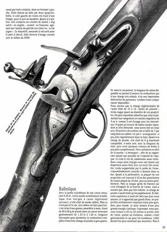 pistolet a grenaille 9mm