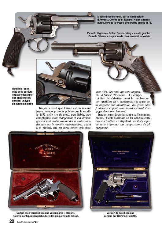 Gazette des armes n 425 novembre 2010 page 12 13 for Arme defense maison