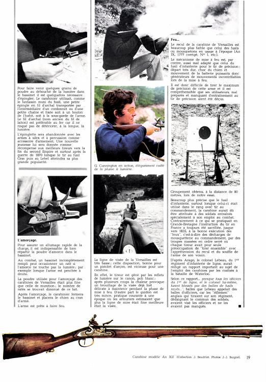 Gazette des Armes n°53 octobre 1977 - Page 26 - 27 - Gazette