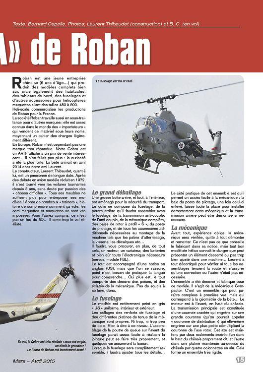 Hélico RC n°32 mar/avr 2015 - Page 82 - 83 - Hélico RC n°32