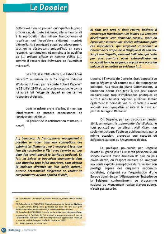 Histomag 39 45 N92 Jui à Oct 2015 Page 62 63 Histomag 39 45 N