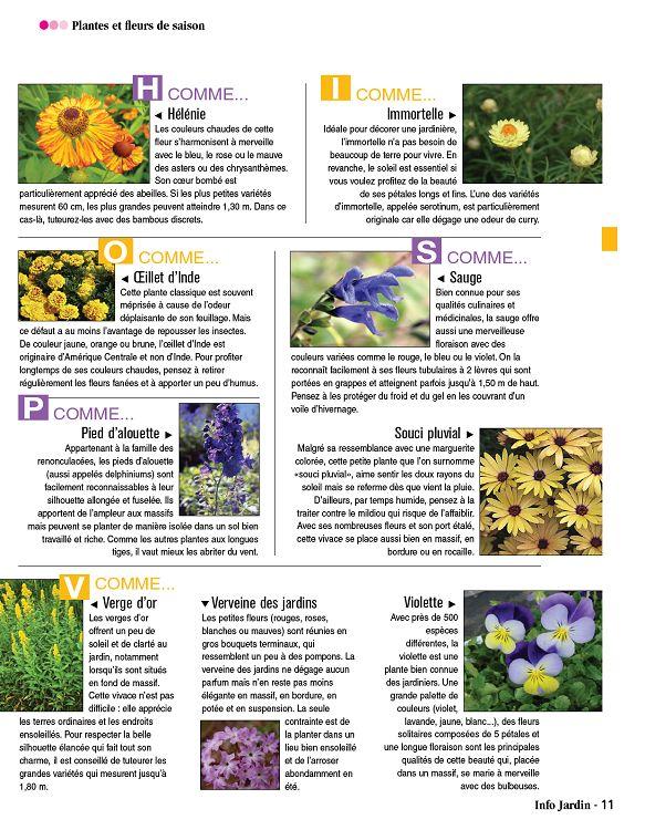 Info jardin n 1 avr mai 2016 page 52 info jardin n 1 for Infos jardin