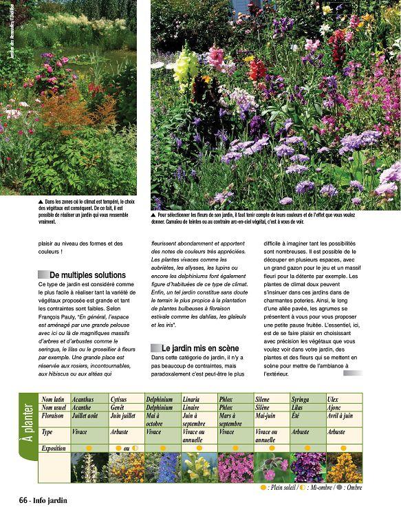 Info jardin n 1 avr mai 2016 page 2 3 info jardin n for Infos jardin