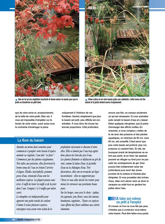 Jardin magazine jardinage ext rieur maison for Magazine jardinage