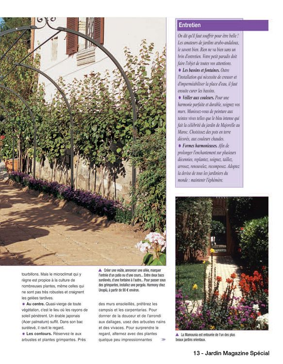 Jardin magazine sp cial n 1 mai jun 2016 page 52 for Magazine jardinage