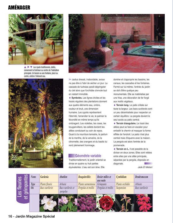 Jardin magazine sp cial n 1 mai jun 2016 page 2 3 for Magazine jardinage