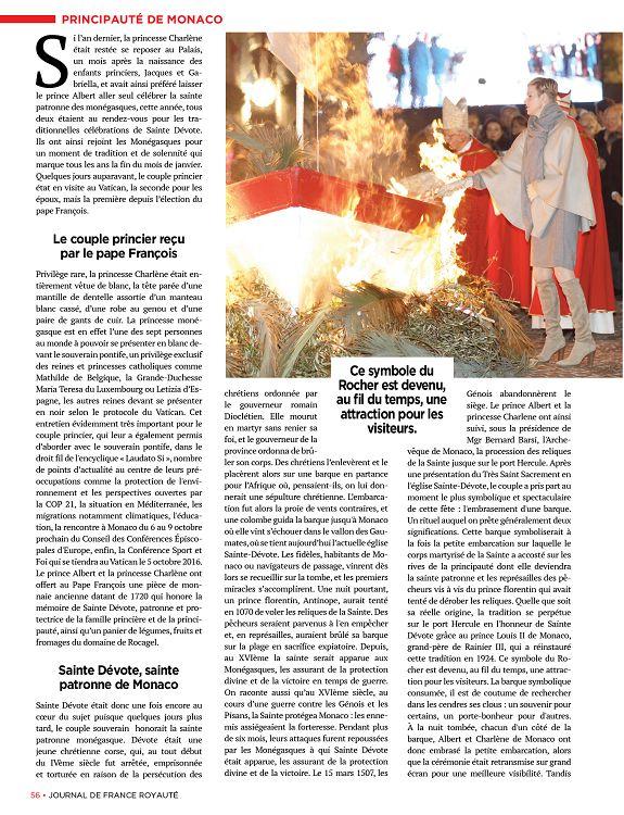 journal de france royaut n 3 jun jui ao 2016 page 2 3 journal de france royaut n 3 jun. Black Bedroom Furniture Sets. Home Design Ideas