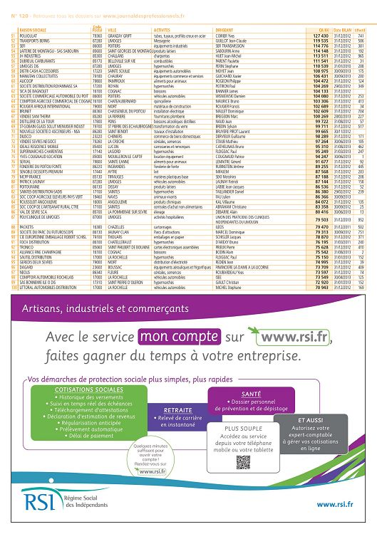 Journal Des Professionnels N 120 Jun A Sep 2014 Page 28 29