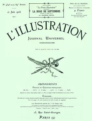 L'Illustration n°4345 12 jun 1926