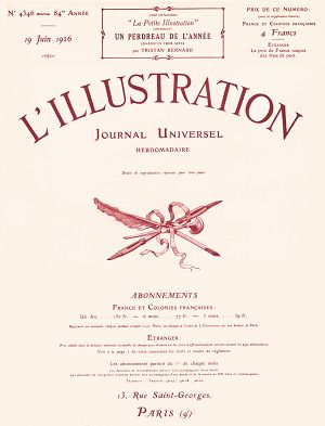 L'Illustration n°4346 19 jun 1926