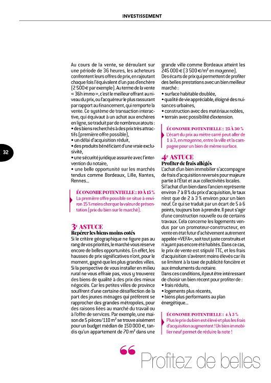 L Immobilier Des Notaires N 14 Mar A Aou 2018 Page 32 33 L