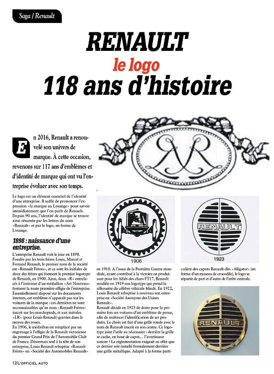 losange renault histoire