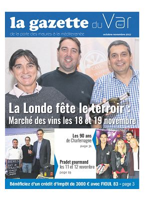 La Gazette du Var n°40 1er nov 2017