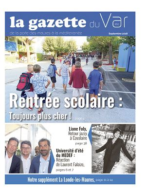 La Gazette du Var n°62 1er sep 2018