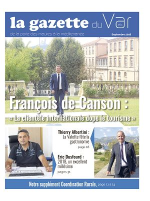 La Gazette du Var n°63 15 sep 2018