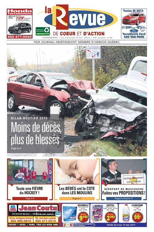 Revue Québec 8 Mai Page La 84 N°54 50 85 2013 76Ybgyf