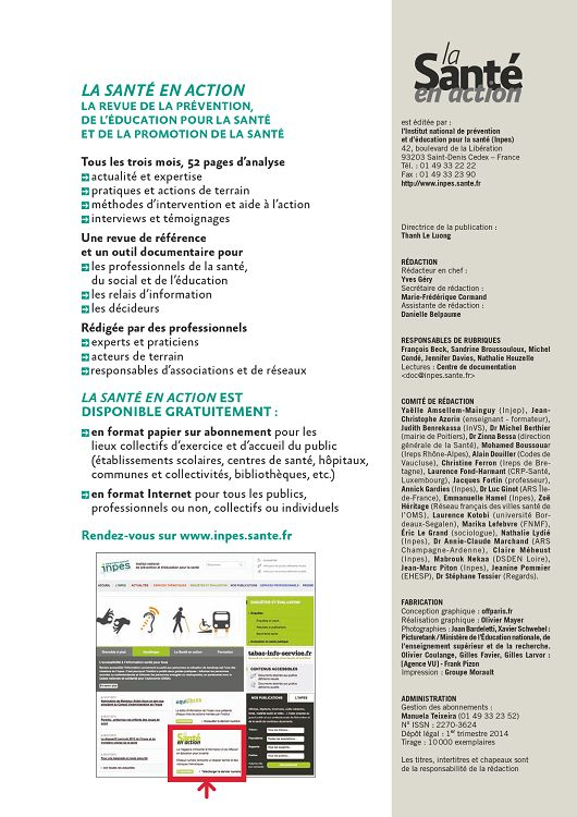 rencontres internationales inpes