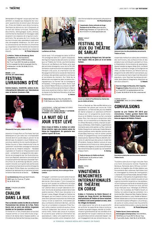 rencontres internationales de théâtre à olmi-cappella
