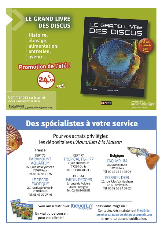 L 39 aquarium la maison n 112 nov d c 2015 page 28 29 for Aquarium a la maison pdf