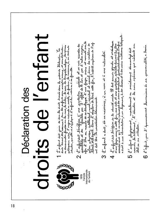 déclaration aide familial en 1979