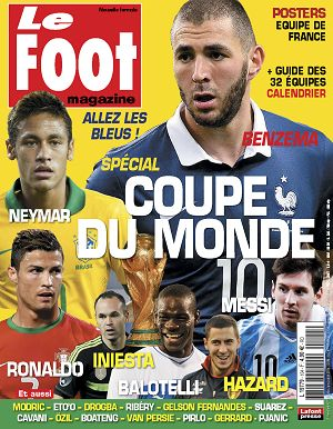 Le Foot Magazine n°104 mai/jun/jui 2014