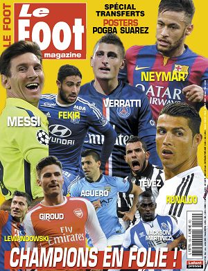 Le Foot Magazine n°109 mai/jun/jui 2015